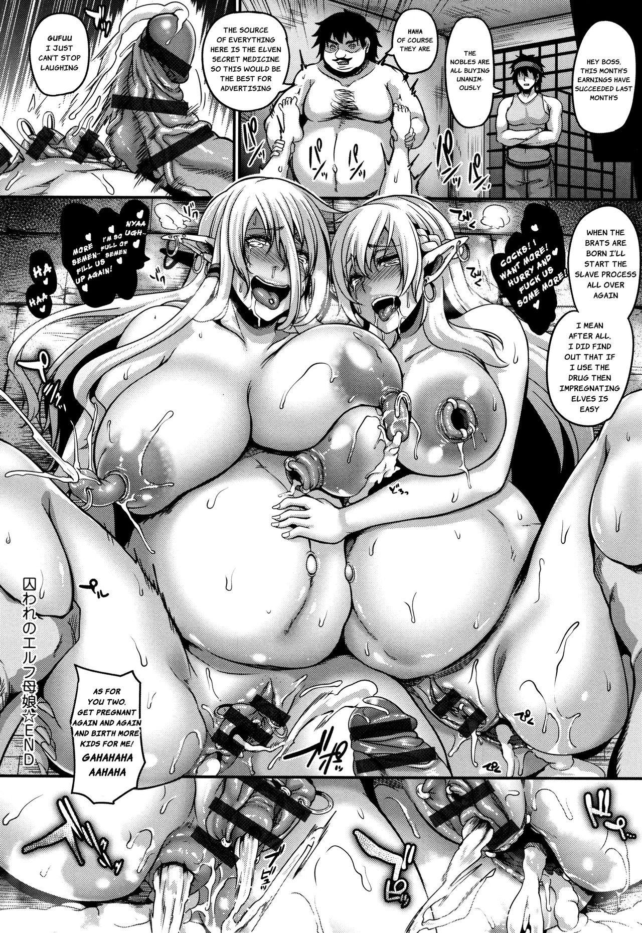 Get Pregnant Hentai toraware no elf oyako   captured elf mother & daughter
